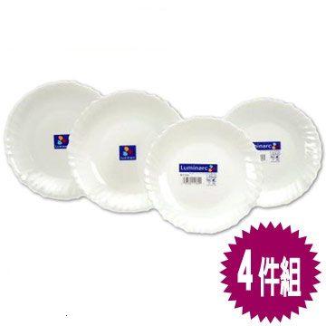 法國《樂美雅》純白4件餐盤組 SP-1203 **免運費**