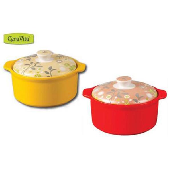 《CeraVita》韓國陶瓷煲湯燉鍋組/陶鍋組1.6L+3L 2件組 SP-1401 **免運費**