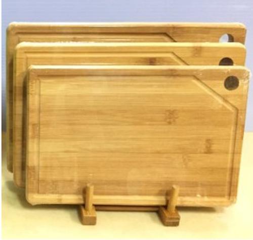 天然無毒竹木砧板組 大+中+小+竹架 抗菌砧板組 SP-1512 **免運費**