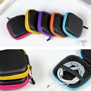 美麗大街【BF073E9】便攜耳機收納包防壓防震耳機收納盒