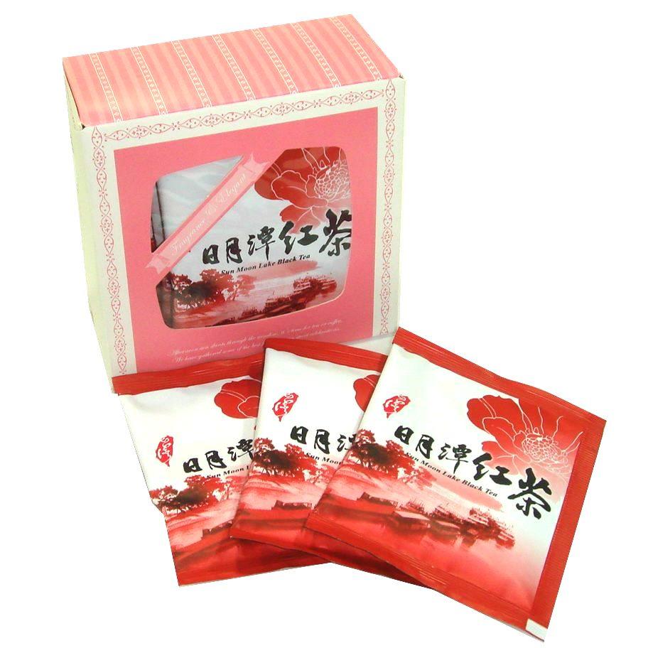 日月潭紅茶~頂級日月潭紅玉紅茶茶包2.5gx10包,採用有機自然農法栽培無農藥。