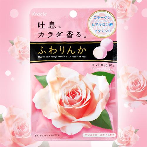 KRACIE玫瑰花香軟糖(32g)