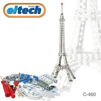 【德國eitech】益智鋼鐵玩具-艾菲爾鐵塔 C460