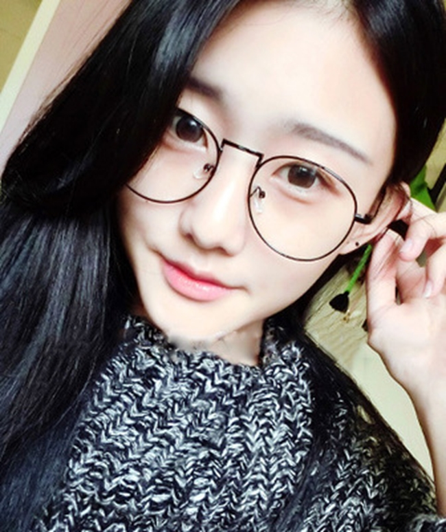 50%OFF【J020076GLS】韓版金屬細邊框眼鏡框圓形女款文藝範潮男士眼鏡架眼鏡框架