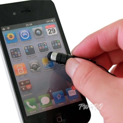 ◆電容式觸控筆◆3.5mm耳機孔吊飾型/防塵/手寫筆/電容筆FOR: ViewSonic ViewPad 10s Wi-Fi