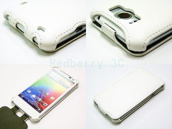 HTC Sensation XL /感動 XL下掀式/掀蓋式 手機皮套 荔枝紋限定款◆贈送! 專用型式 皮套/保護殼◆