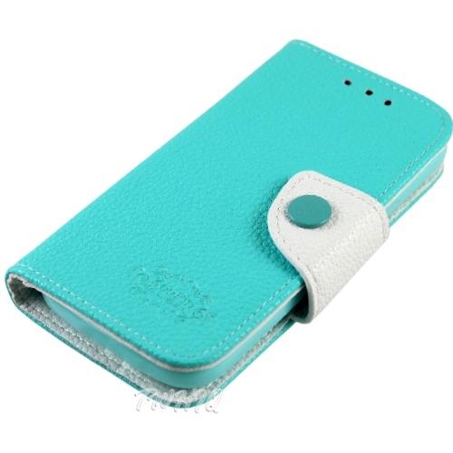 KooPin HTC Desire 600c dual 亞太雙卡機 雙料縫線 側掀(立架式)皮套