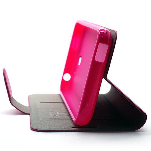 KooPin HTC Desire 610 璀璨星光系列 立架式側掀皮套