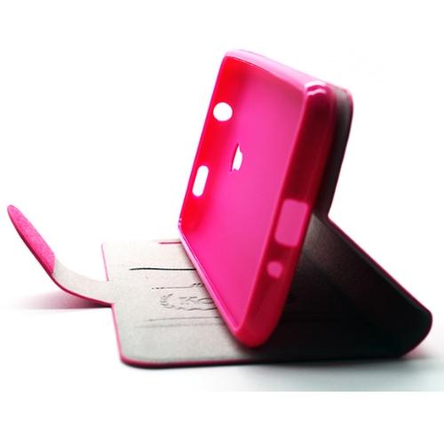 KooPin HTC Desire 700 璀璨星光系列 立架式側掀皮套