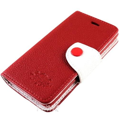 KooPin HTC Desire 600 雙料縫線 側掀(立架式)皮套