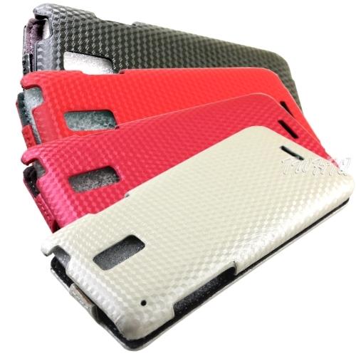 HTC J (Z321E) 盔甲紋系列 側邊包覆 掀蓋式手機皮套