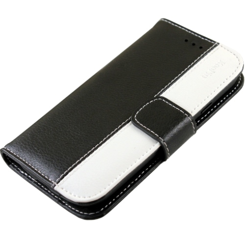 KooPin Apple iPhone 5 /5S 經典真皮系列 可立式側掀皮套◆贈送!防水防塵塞◆