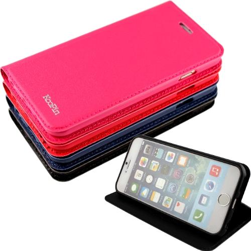 KooPin Apple iPhone 6 (4.7吋) 隱磁系列 商務簡約可立式皮套