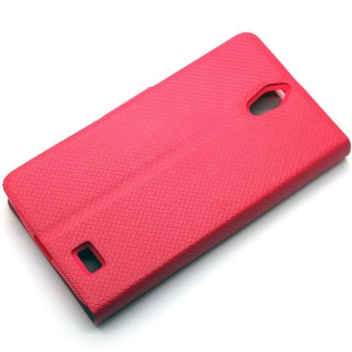 Redberry InFocus M210 甜漾簡約 立架式側掀皮套