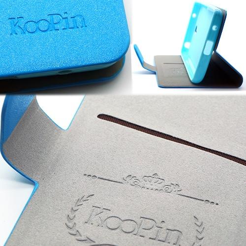 KooPin 紅米NOTE 璀璨星光系列 立架式側掀皮套