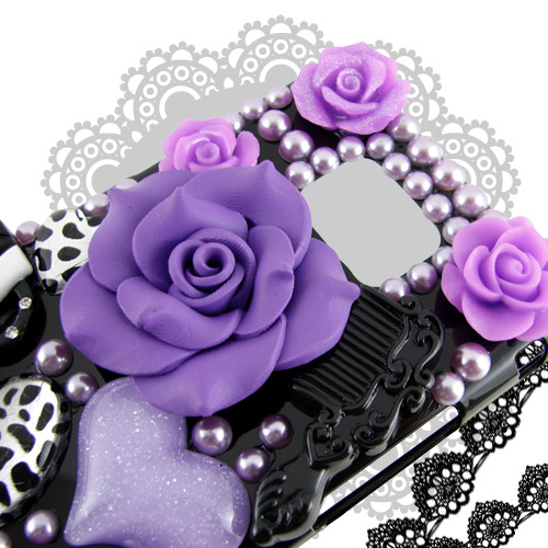 Samsung Galaxy S2 /i9100 時尚奢華風立體浮雕美妝保護殼
