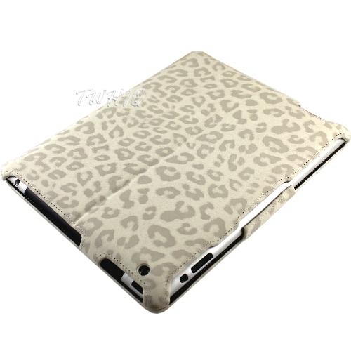 Apple iPad 4 專用 豹紋系列皮套/保護套