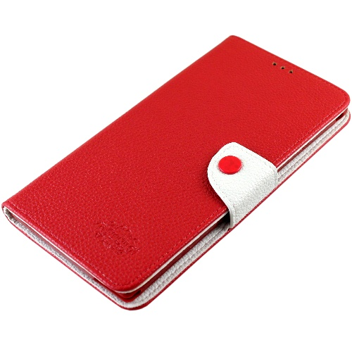 KooPin HTC One Max 雙料縫線 側掀(立架式)皮套