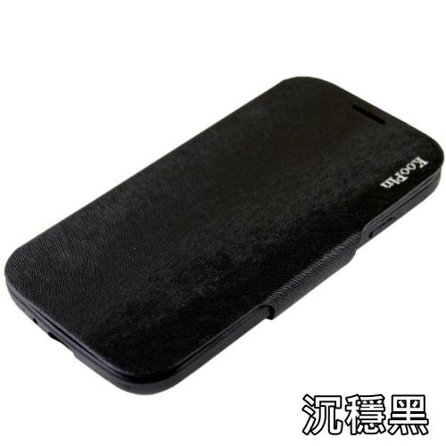 KooPin HTC One mini 貂紋薄型 可立式側掀皮套