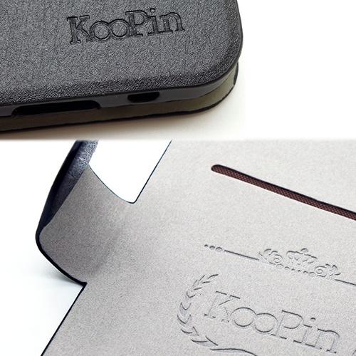 KooPin ASUS PadFone S 璀璨星光系列 立架式側掀皮套