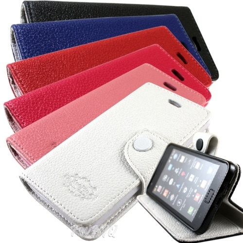 KooPin HTC Desire U (微笑機)  雙料縫線 側掀(立架式)皮套