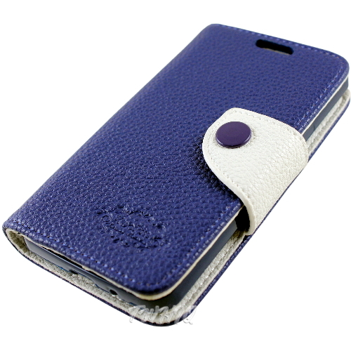 KooPin Samsung Galaxy i9105 S2 Plus 雙料縫線 側掀(立架式)皮套