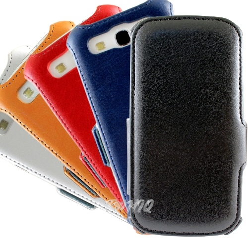 Samsung Galaxy S3 i9300 側掀(立架)皮套◆送很大!專用型螢幕保護貼◆