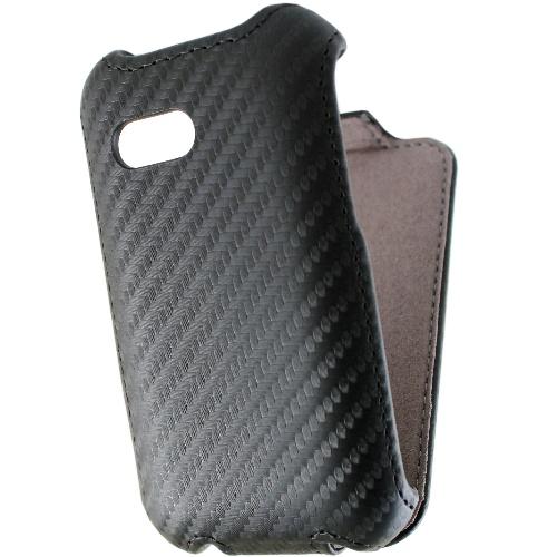 SAMSUNG Galaxy Y (S5360) 動感卡夢紋 下掀式/掀蓋式 手機皮套