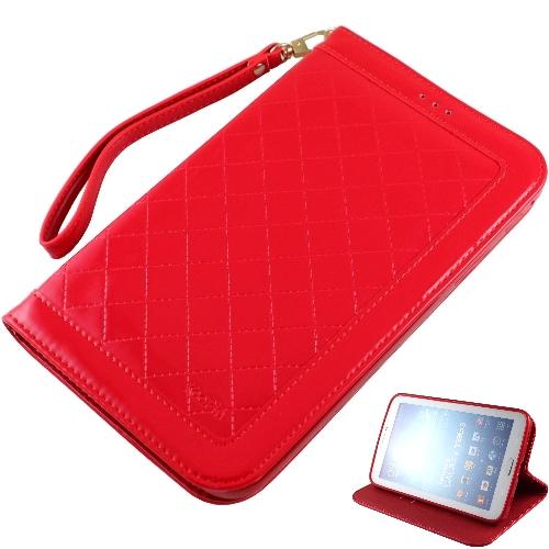 KooPin Samsung Galaxy Tab3 7.0 隱磁系列 手提式菱格包