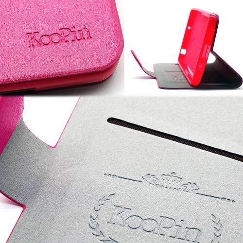 KooPin ASUS ZenFone 5 璀璨星光系列 立架式側掀皮套