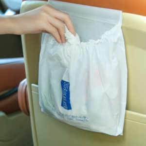美麗大街【BF496E3E862】創意粘貼式車用垃圾袋3個裝車載垃圾袋子塑料袋垃圾袋