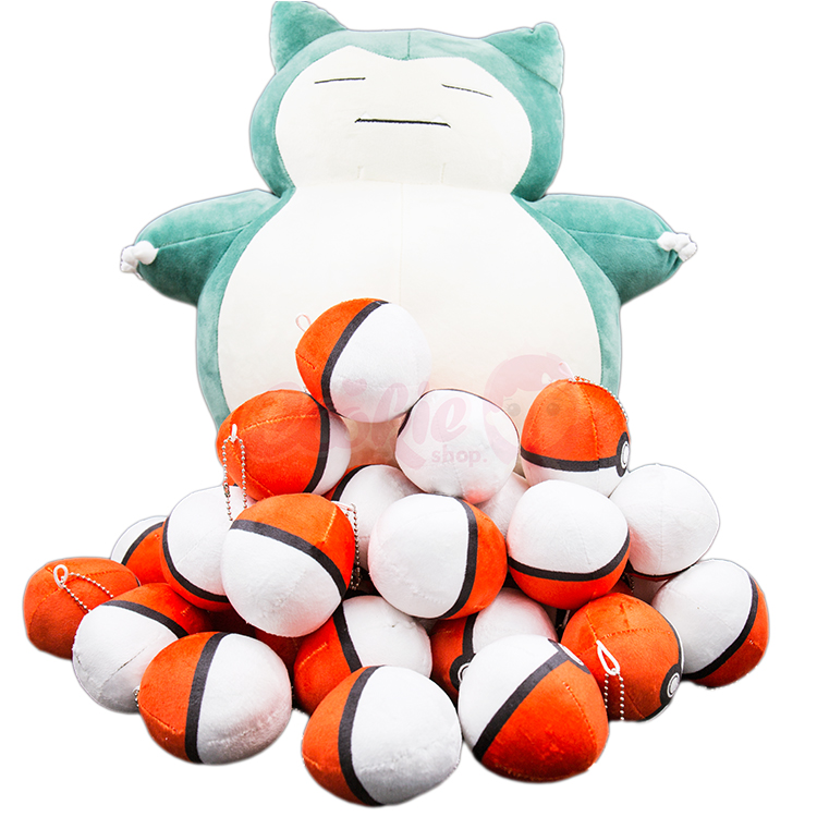 Pokemon Go!寶可夢精靈球手機吊飾鑰匙圈幸運符【庫奇小舖】
