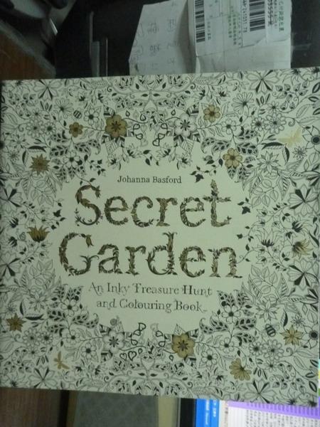 【書寶二手書T2/原文書_PLY】Secret Garden: An Inky Treasure…
