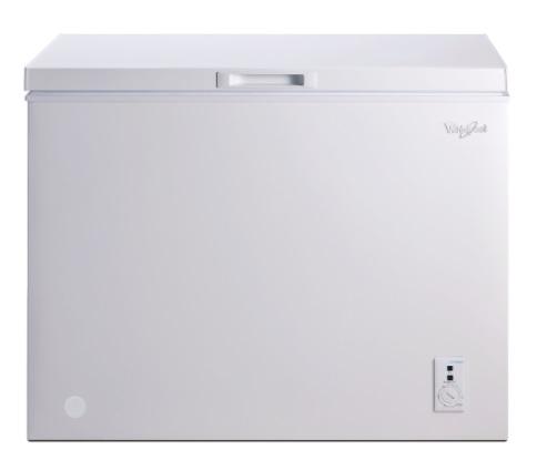 Whirlpool 惠而浦 255公升 臥式上掀冷凍櫃 WCF255W1