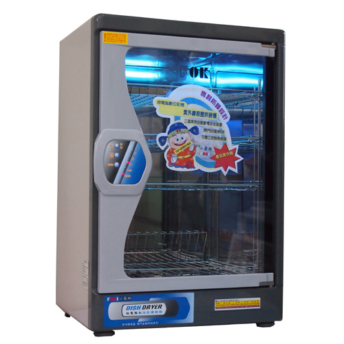 【小廚師】紫外線殺菌四層烘碗機TA-858