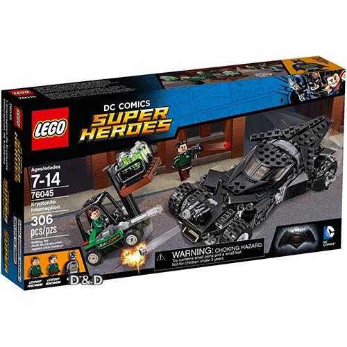 高積木 LEGO《 LT76045 》2016 年 SUPER HEROES 超級英雄系列 - Kryptonite Interception