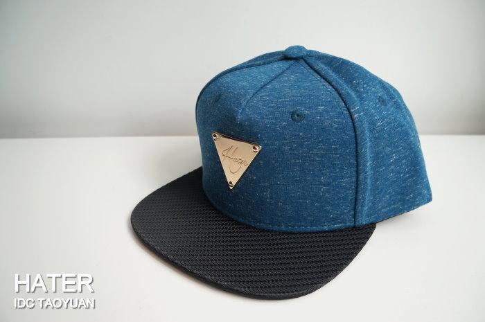 ►法西歐_桃園◄ HATer Snapback Heather Indigo Blue 麻花藍 藍色 排扣 棒球帽