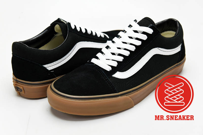 ☆Mr.Sneaker☆ VANS Old Skool 特殊/基本/百搭/經典不敗 復古/休閒/滑板鞋 低筒 帆布/麂皮/膠底 黑色 男款