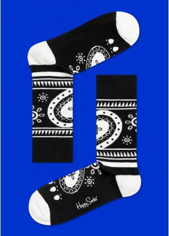☆Mr.Sneaker☆ 瑞典 Happy Socks 2015 魔幻嬉皮 中筒襪 HI01 繽紛 歡樂 快樂襪 男女尺碼 彩色 愛心 花邊 黑/白