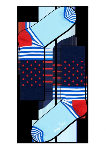☆Mr.Sneaker☆ 瑞典 Happy Socks 2015 創意拼圖 中筒襪 SD01 繽紛 歡樂 快樂襪 彩色 點點 橫線條 淺藍/深藍/紅