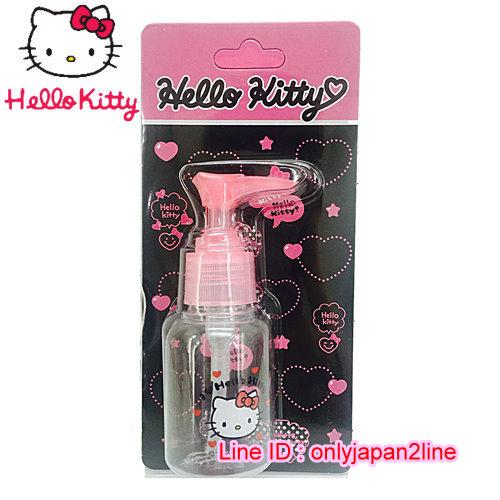 【真愛日本】16101900013擠壓瓶50ML-KT抱抱桃心  三麗鷗 Hello Kitty 凱蒂貓 收納盒/擠壓瓶/噴霧瓶  旅用組