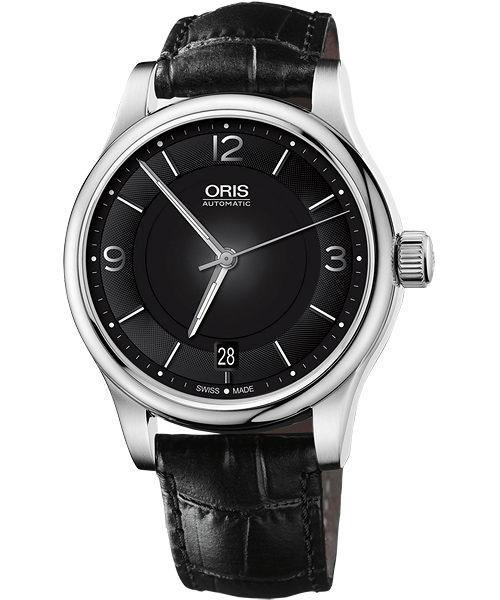 ORIS 豪利時0173375784034-0751811 經典紳士機械腕錶/黑面42mm