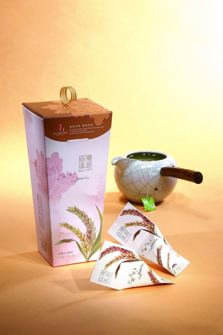 【福星茶葉】天燈系列-元氣玄米茶包