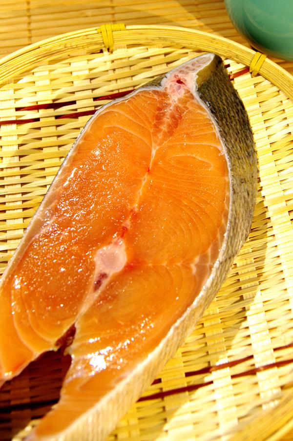 野生阿拉斯加鮭魚厚切 300g