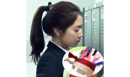 韓劇主君的太陽繼承者們來自星星的你髮帶&手環(一組8條顏色隨機發貨)