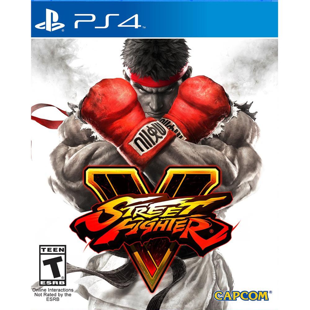 PS4 快打旋風 5 英日文美版 Street Fighter V
