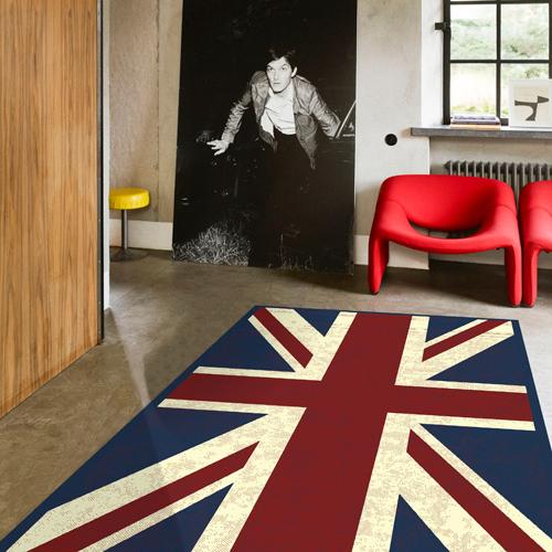 比利時進口浪漫的英式風格人造絲地毯