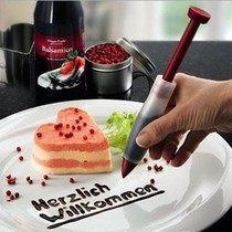 矽膠巧克力筆 蛋糕寫字裝飾擠醬筆