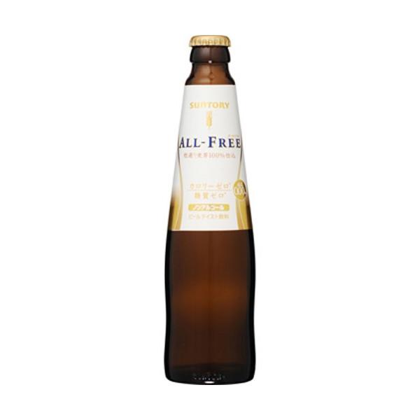 三多利 ALL-FREE小麥飲料(玻璃瓶裝)/日本無酒精啤酒/4901777211926