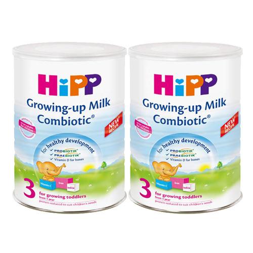 【奇買親子購物網】HiPP喜寶雙益幼兒成長奶粉/2入